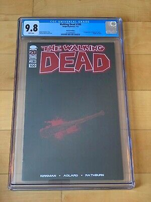 Walking Dead 100 Red Foil Variant Cgc 9.8 --- White Pages Wp 2012 Negan Lucille