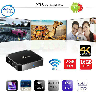 20pcs Android X96mini Tv Box 7.1 Amlogic S905w Kd 17.6 Wifi 2gb 16gb 4k Hot H0z7
