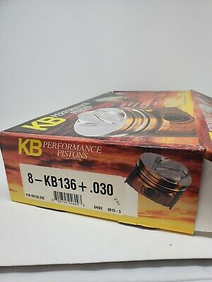 Kb136030 Keith Black Dome Pistons Ford 351w 4.030 Bore 3.500 Stroke 5.956 Rod