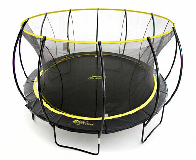 Skybound Stratos 14ft Premium Trampoline W/ Enclosure Net - Heavy Duty 330 Lbs