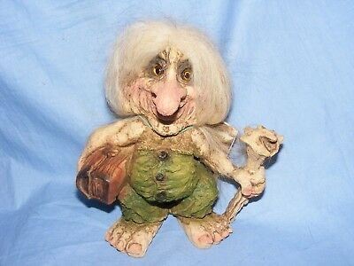 Ny Form Nyform Troll Traveller Norway Collectable Norwegian T274