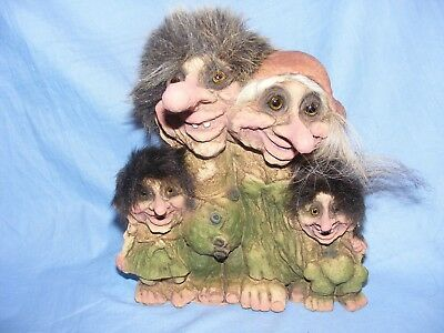 Ny Form Nyform Troll Family Norway Collectable Norwegian T268