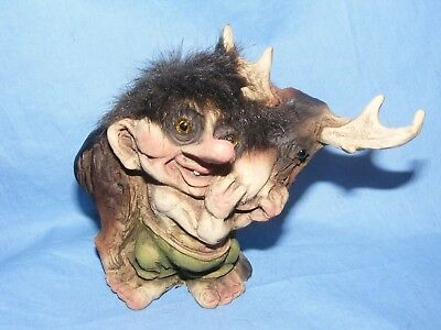 Ny Form Nyform Troll With Moose Norway Collectable Norwegian T043