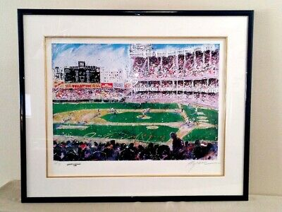 Michael Bryan Signed Serigraph Artist Proof Ap 7/25 The Old Baseball Game 32x38