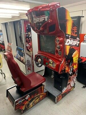 Fast And Furious Tokyo Drift Arcade Raw Thrills (100% Home Owned Unit)