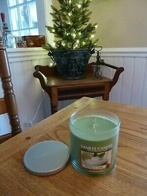 "Yankee Candle Retired "" Vanilla Lime ""  Large 12.5 Oz ~ Rare ~ New Htf"
