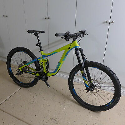 New Giant Reign 27.5 2 Full Suspension Mtb Mountain Bike Small Shimano Rockshox