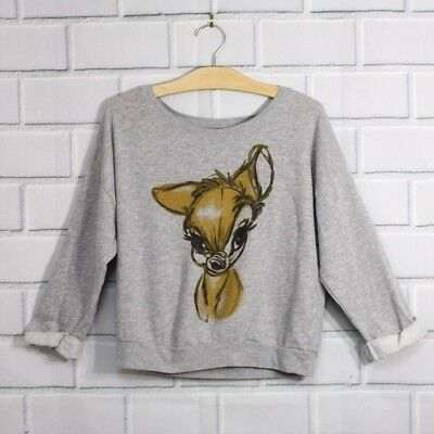 Bambi Sweatshirt Disney Artist Collection Archive Art Sketch Top Limited Edition