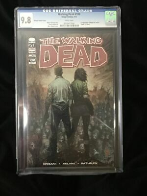 The Walking Dead #100 Silvestri Variant Cover Cgc 9.8