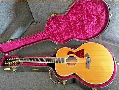 Taylor 655 12 1996s Guitar Acoustic Made In Japan With Original Hard Case