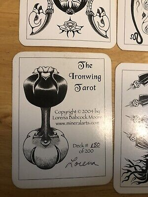 Ironwing Tarot And Victorian Romantic Out Of Print Hard To Find