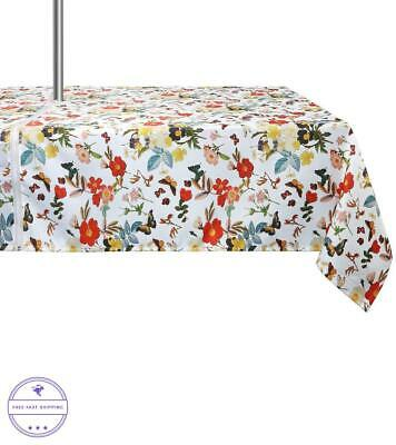 New Dining Happy Valentines Day Pink I Love You 3000 In & Outdoor Tablecloth