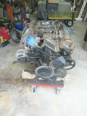 1973 Dodge Chrysler Mopar 440 Ci Big Block  Engine Motor Complete Good Shape