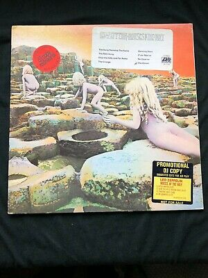 Led Zeppelin Houses Of The Holy Mono Promo White Label; Robert Ludwig Mastered!