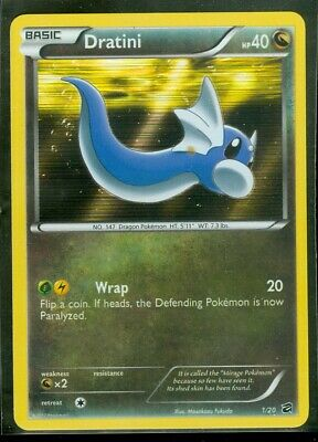 Pokemon DRATINI 1/20 Dragon Vault HOLO - MINT