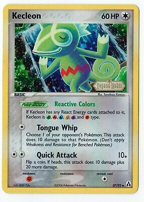 Pokemon Karte Kecleon 37/92 Ex Legend Maker EN englisch Reverse Holo Stamp NM