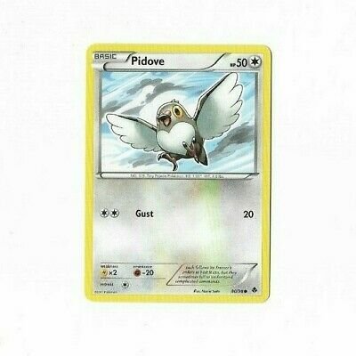 Pokemon Card Pidove 80/98 Emerging Powers  Excellent To Near Mint