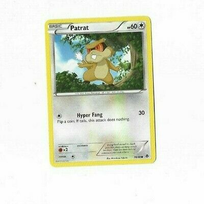 Pokemon Card Patrat 78/98 Emerging Powers  Excellent To Near Mint