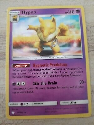 Pokemon TCG Unbroken Bonds - Hypno 72/214