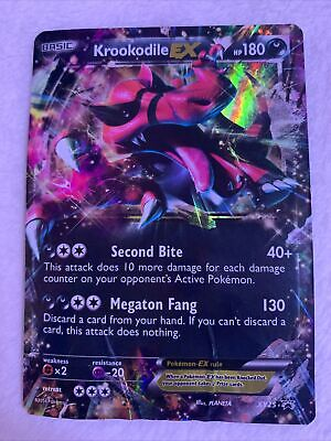 Krookodile ex xy25 Promo Holo Damaged 2014 Pokemon card