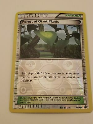 2015 Pokemon Xy Ancient Origins Forest Of Giant Plants 74/98 Reverse Holo