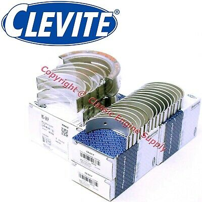 New Clevite Standard Size Rod & Main Bearing Set 1969-1976 351w Ford Sb Windsor