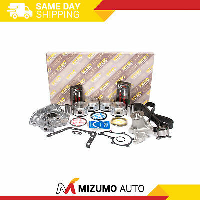 Engine Rebuild Kit (w/o Sensor Port) Fit 93-97 Geo Prizm Toyota Corolla 1.6 4afe