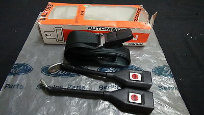 Mk2 Escort Rs1800 Rs2000 Mexico Genuine Ford / Securon Nos Seat Belt