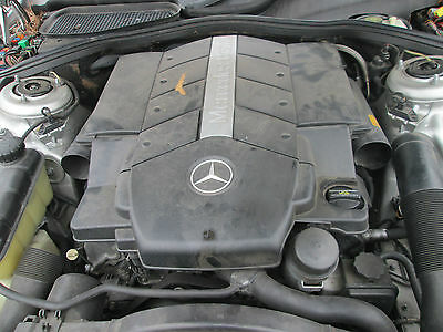 2000 2001 2003 Mercedes S430 Engine Complete W220  M113 E43