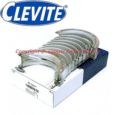 """New Set Of Clevite .010"""" Undersize Main Bearings 1977-1998 351w 351m 400 Ford"""