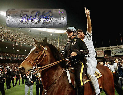 Wade Boggs Signed Old Yankee Stadium Game Used Box Plate 539 Jsa Mlb Steiner Ny
