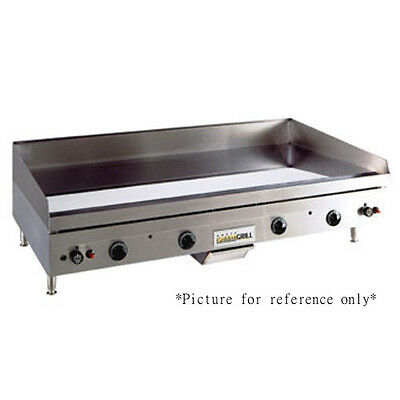 """Anets A30x48 48"""" W X 30"""" D Countertop Gas Griddle With Manual Controls"""