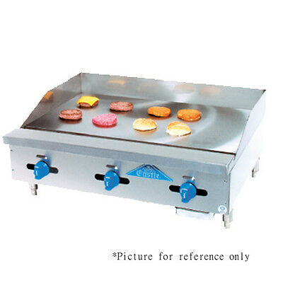 """Comstock Castle 3260mg 60"""" Countertop Gas Griddle With Manual Controls"""