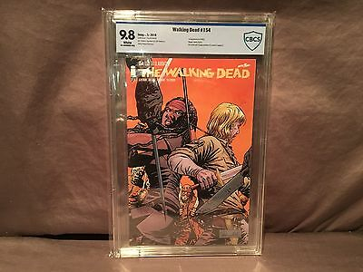 The Walking Dead #154 Cbcs 9.8 1st Appearance Of Beta