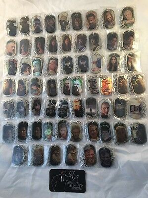 Walking Dead Dog Tags Massive Collection Season Two & Two Update 63 Unique Tags