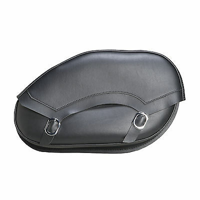 Willie & Max Revolution Series Standard Throw Over Saddlebags - Leather, Large