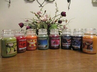 Yankee Candle 22 Oz Jars You Choose Scents