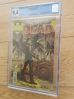 Walking Dead #1 Image Comics, 10/03,  Cgc Rating 9.4 # 1357420001 $1,499.00