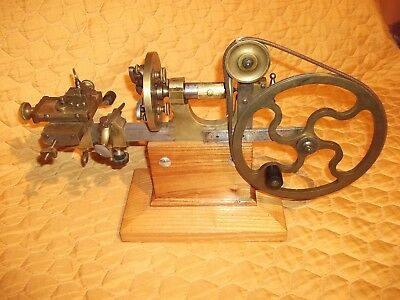 Antique Watchmakers Jewelers Lathe Very Good Condition Rare