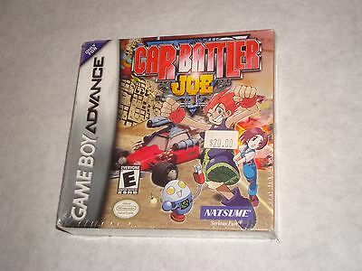 Car Battler Joe Gba Nintendo Game Boy Advance Brand New Factory Sealed Original