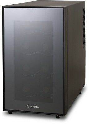 Westinghouse Wwt080mb Thermal Electric 8 Bottle Wine Cellar, Black