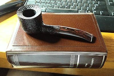 Rare Vintage 1984 Dunhill Christmas Pipe With Original Box Unsmoked Mint #26