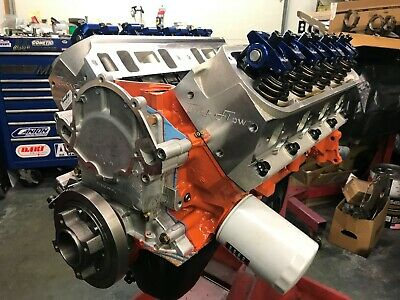 351w / 357 Small Block Ford Long Block, Race Prepped, Makes 500+hp