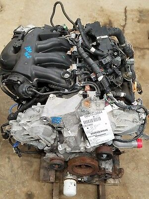 2011 Nissan Altima 3.5 Engine Motor Assembly 79,676 Miles Vq35de No Core Charge