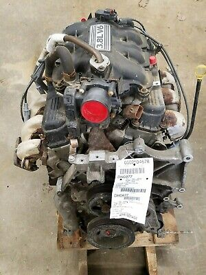 2008 Chrysler Town & Country 3.8 Engine Motor Assy 180,699 Mile No Core Charge