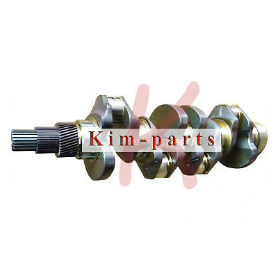New Crankshaft For Kubota V3800 Engine Bobcat Excavator Tractors
