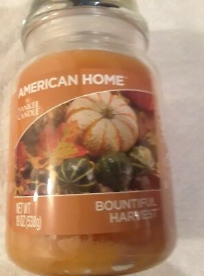 Yankee Candle Bountiful Harvest 19 Oz Candle American Home