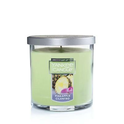 Yankee Candle Pineapple Cilantro Small Tumbler 7oz Candle, New, Free Shipping