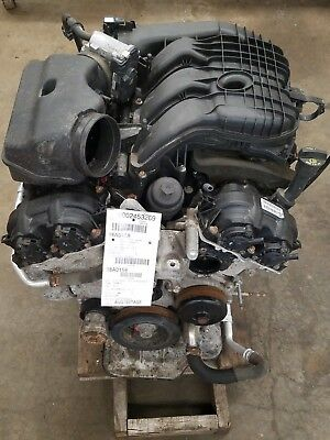 2013 Dodge Caravan 3.6 Engine Motor Assembly 136,613 Miles No Core Ch