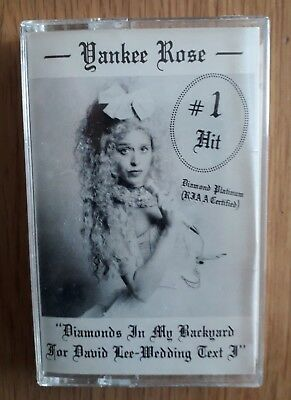 Yankee Rose - Ultra Rare Private Female Fronted Melodic Rock Cassette. David Lee